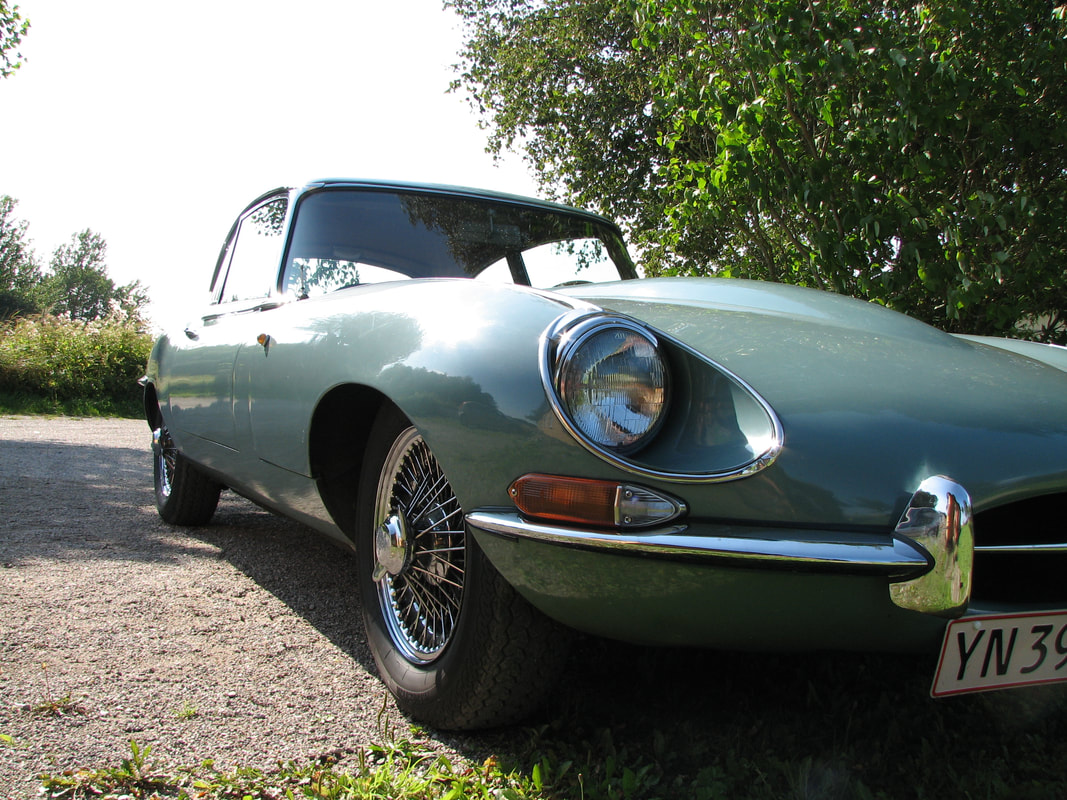 jaguar e type pris